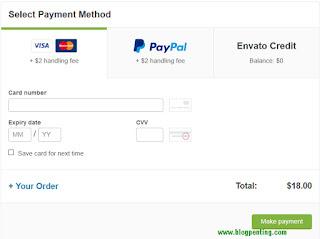 Pembayaran Codecanyon