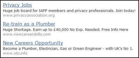 Data Protector: Fancy a career in privacy, or plumbing?