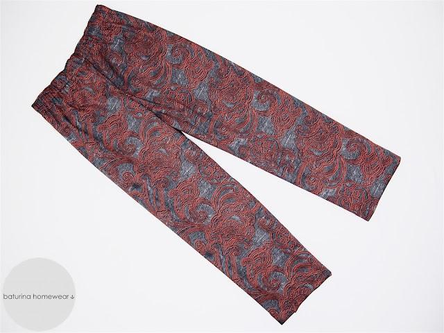 mens pajama pants paisley cotton long trousers pyjama warm custom tailored pajamas set for men