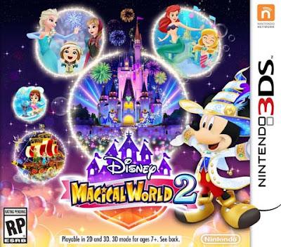 Disney Magical World 2 Decrypted 3DS EUR