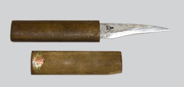 デービッドさんの田主丸型接木小刀