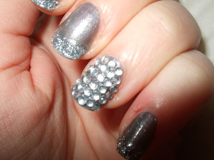 Happy New Year 2016 Nail Design Ideas Images for School Girl