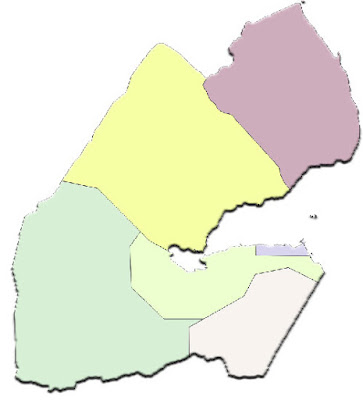 image: Djibouti blank color Map