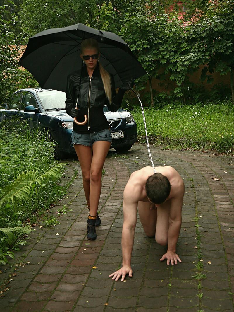 Эротика вывела раба на прогулку — img 10