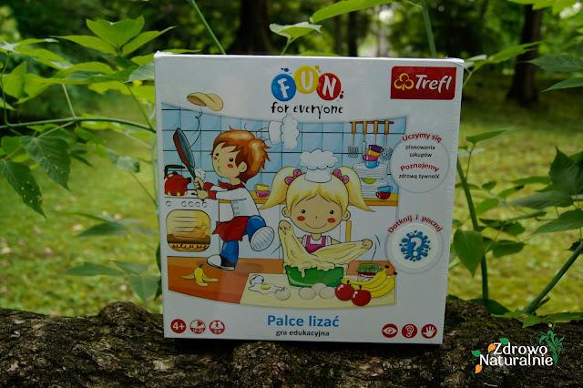 Trefl - Gra Palce Lizać jako sposób rodzinnej rozrywki i nauki zdrowego żywienia przez zabawę