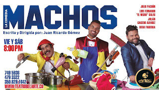 Poster MACHOS: La Comedia