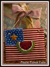My American Flag Ornie in Create and Decorate Magazine