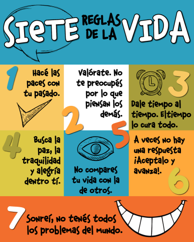 7 reglas de la vida