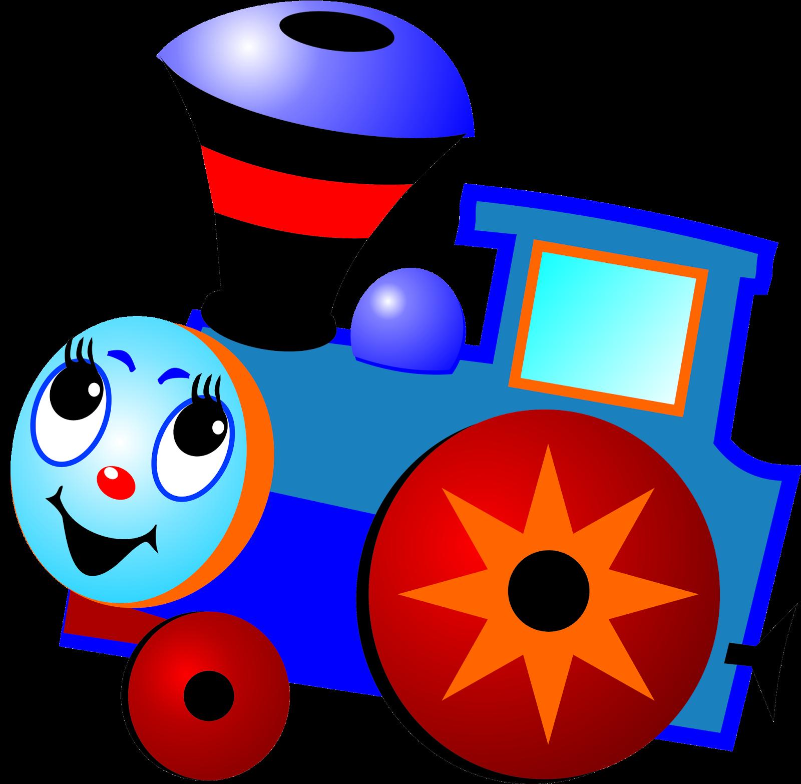 Детская картинка паровоз и вагончики
