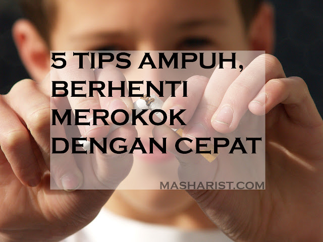 5 Tips Ampuh, Berhenti Merokok Dengan Cepat