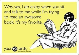 Reading Books Ecard