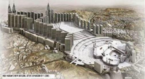 Kemusnahan Tanah Suci Mekah Yang Cuba Disembunyikan