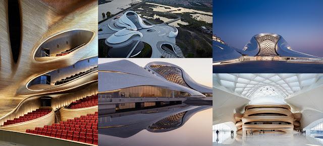 Harbin Opera House, Architecture, Design, Contemporary Architecture, Opera House, Harbin opera.