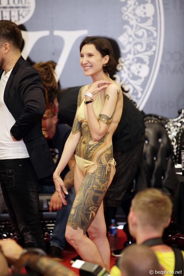 Международная неделя татуировки в Москве 2016