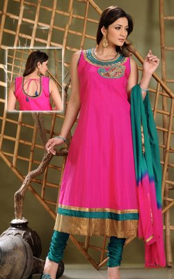 Shocking Pink - Salwar Kameez Latest Designs