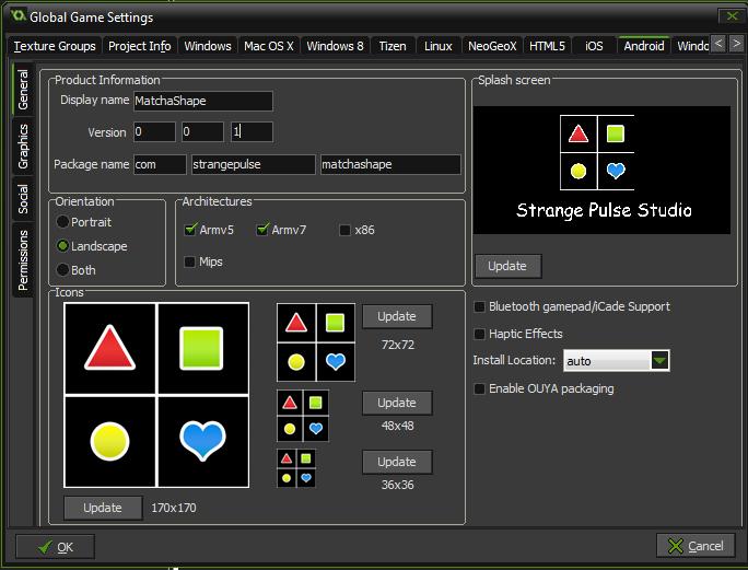 game maker studio build apk