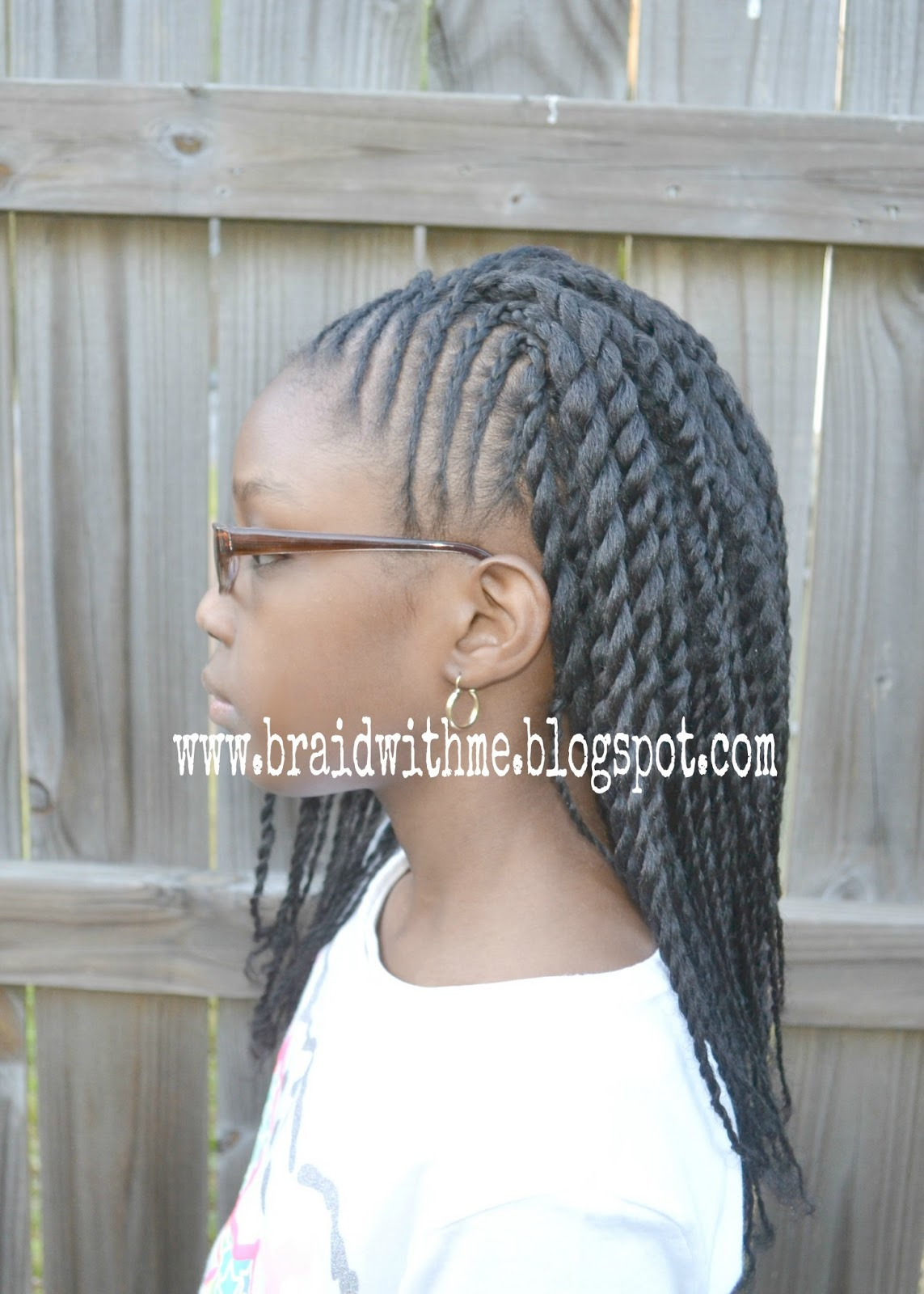 Braid With Me Curly Two Strand Twists