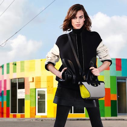 Inspiração Gráfica Longchamp Ready-to-Wear/Outono 2015