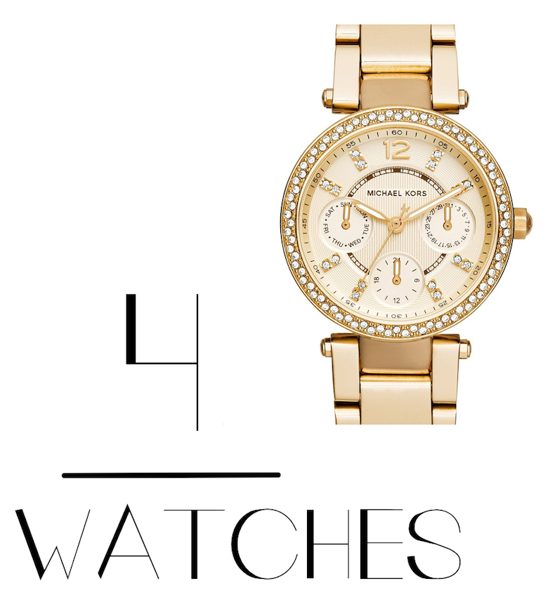 Michael Kors 'Mini Parker' Multifunction Bracelet Watch, 33mm