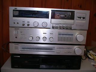 Estéreo para radio y cassette de los 80´s
