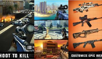 Sniper 3D Assassin Apk Mod Unlimited Coins/Gems Terbaru