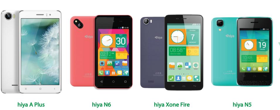 Hiya N6 Firmware-update // inredimmi cf