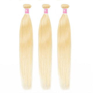 8A Premium Hair Weave Brazilian Hair Bundles Straight Hair Blonde 613–Price:$44.69 /piece (10%off)