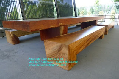 TABLE SUAR WOOD,DINING TABLE SOLID TREMBESI WOOD,SUAR TABLE,TREMBESI TABLE CODE 1 11