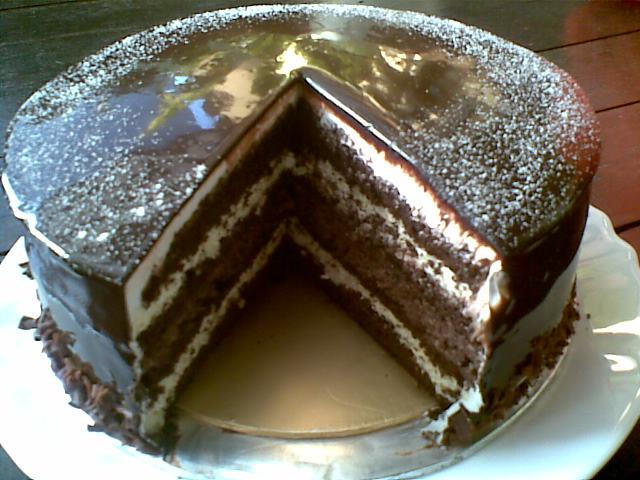 resepi kek coklat ringkas  mudah pewarna Resepi Kek Lapis Azlita Enak dan Mudah