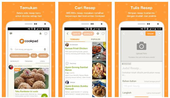 CookPad : Memasak Jadi Mudah Dengan Aplikasi Resep Android