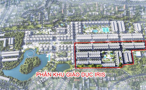 Phân khu IRIS – khu đô thị Crown Villas – Thái Hưng Eco City