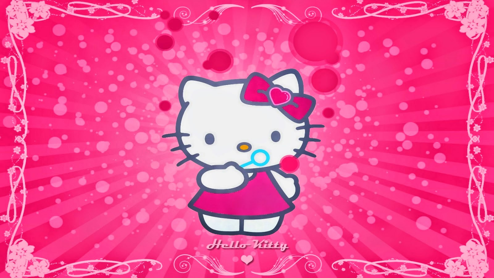 Tải 26 Hình Nền Hello Kitty đẹp Full Hd