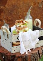 Sándwich Thins de pollo adobado