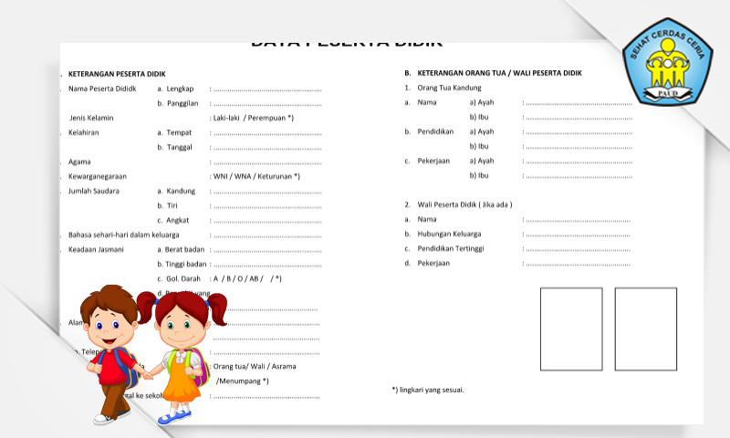 Download Contoh Buku Induk Siswa Paud Format Microsoft Word Administrasi Pendidikan