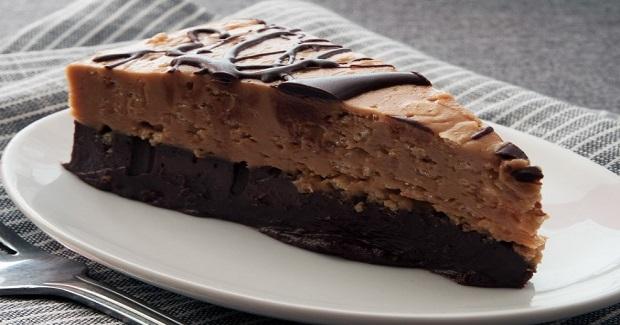 No Bake Chocolate Peanut Butter Cake Recipe