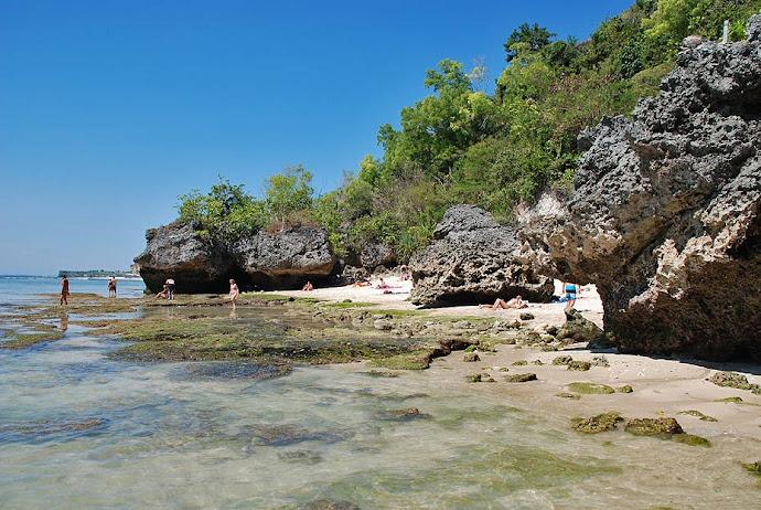 Playa pintoresca