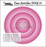 http://www.all4you-wilma.blogspot.com https://www.crealies.nl/nl/detail/1212253/crea-nest-lies-xxl-stansen-dies-no-21-cirkels-met-stiksteeklijn-circles-with-stitchline.htm