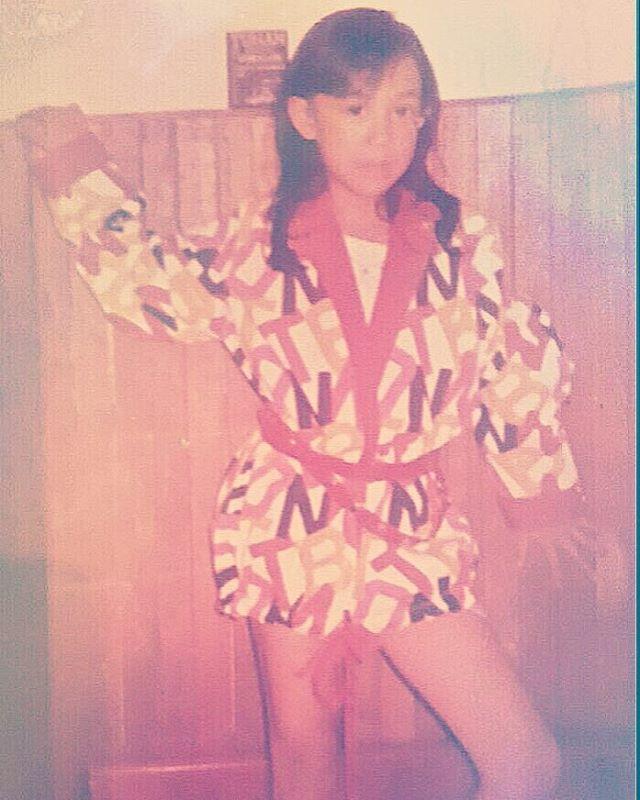 Ini waktu kecil, masih mirip Ade Irma Suryani gak?