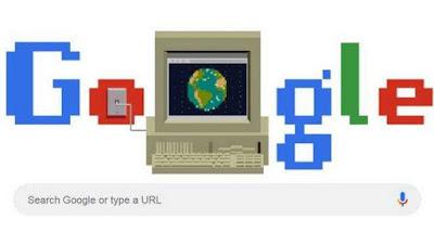 Google Doodle Celebrates 30 Years of WWW