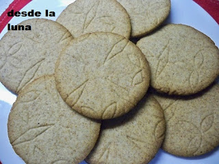 Galletas De Miel Integrales