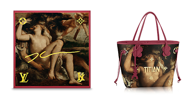 louis vuitton jeff koons titian