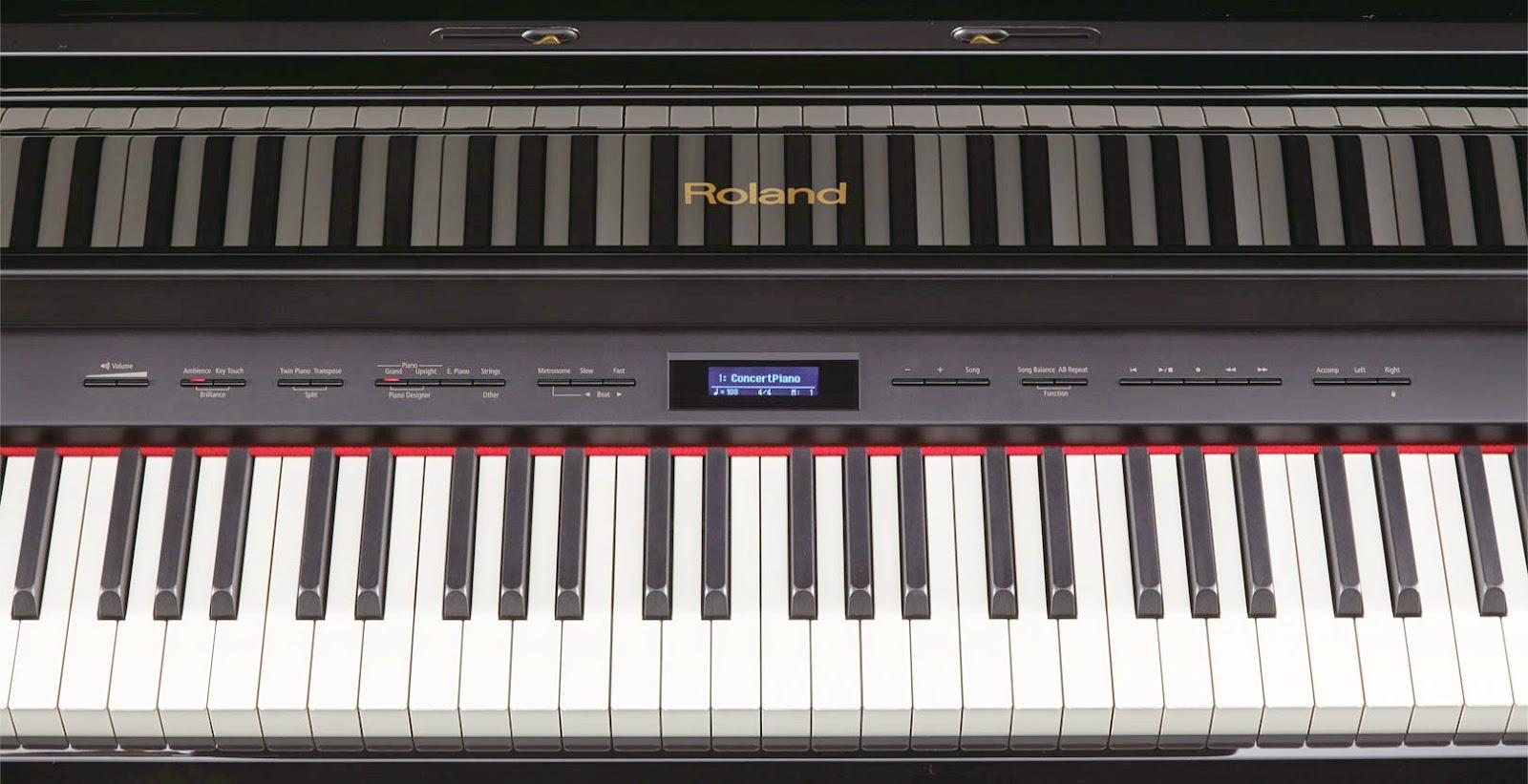 Roland control panel
