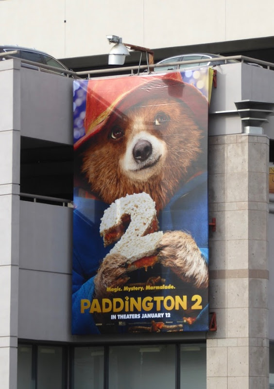 Paddington 2 film billboard