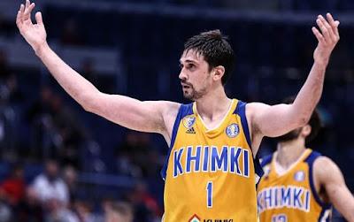 Aleksey Shved - Khimki Moscow