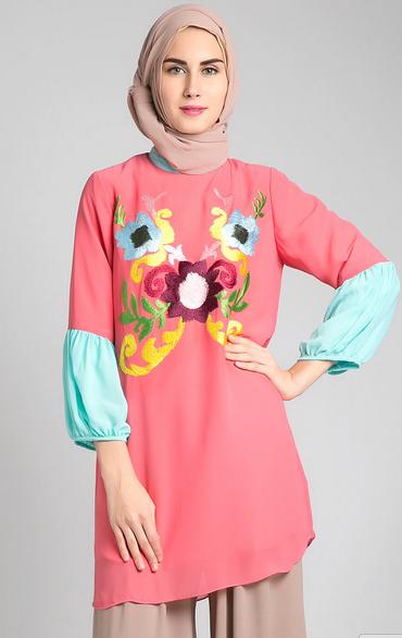 Gambar Baju Muslim Wanita Gamis