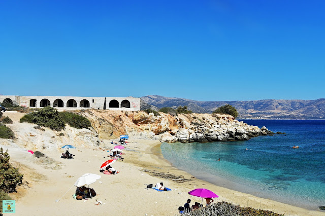 Mikro Alyko Beach en Naxos