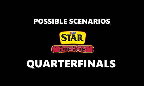 List of Quarterfinal Scenarios for Star Hotshots 2017 PBA Commissioner's Cup