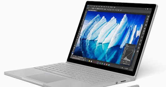 M181201001 MICROSOFT SURFACE BOOK (BATTERY PROBLEM.) Repaired.