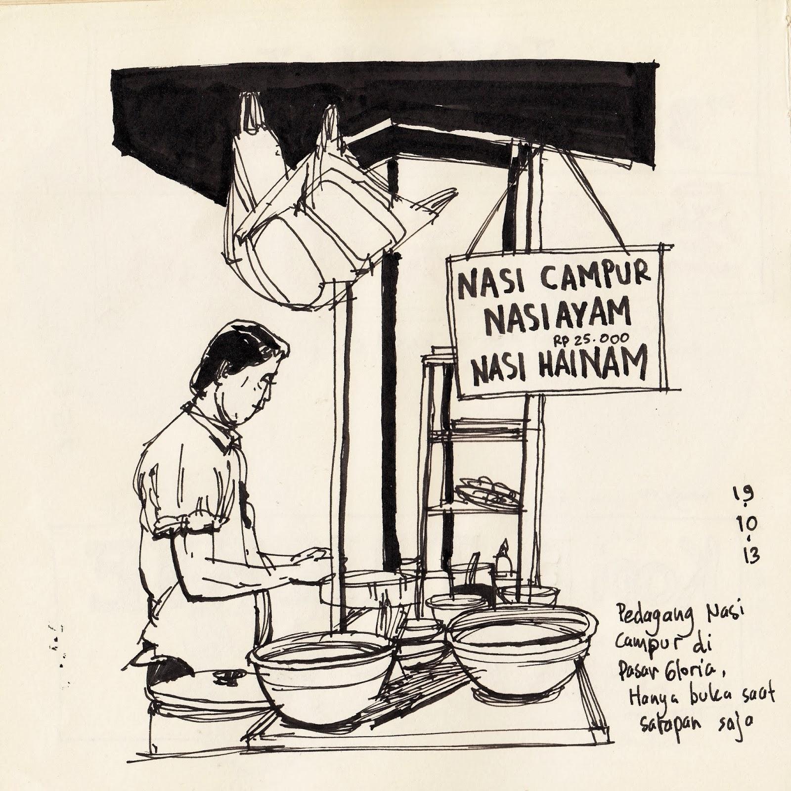 Gambar Ilustrasi Pasar Yg Mudah