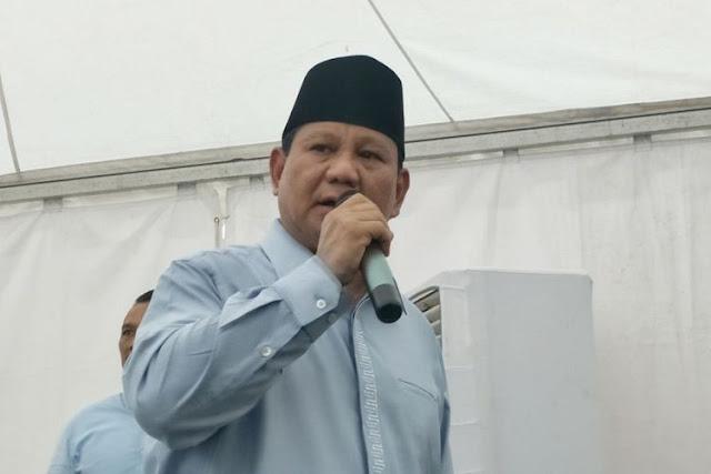 Prabowo Tegaskan Kehadirannya pada Haul Mbah Priuk Bukan Kampanye